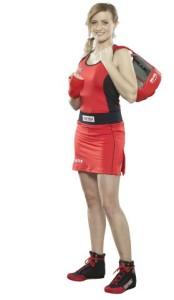 AIBA認證女用比賽服(紅) (Mobile)
