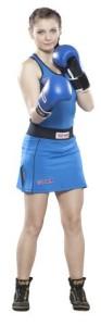 AIBA認證女用比賽服(藍) (Mobile)