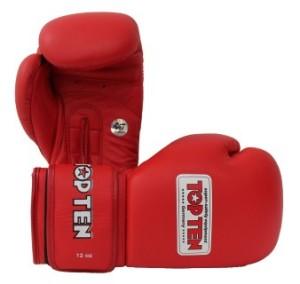 AIBA認證12oz拳擊手套紅色 (Mobile)